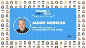 Jason Johnson la Summitul ARFO 2020